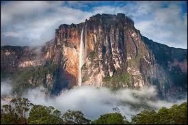 Où se trouve Salto Angel la plus grande chute d'eau du monde ?