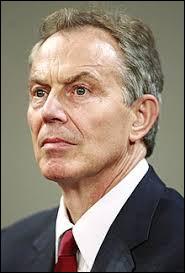 De quel pays Tony Blair est-il l'ancien Premier ministre ?