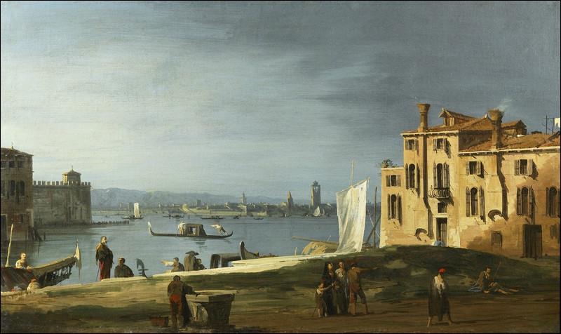 À qui doit-on cette vue de Venise ?