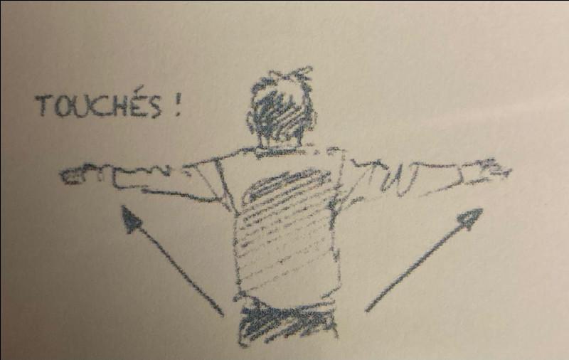 Que signifient les gestes de l'arbitre ?