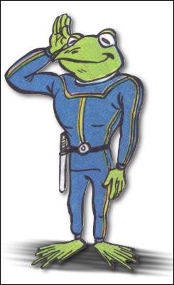 Dans quelle activité retrouve-t-on un homme-grenouille ?