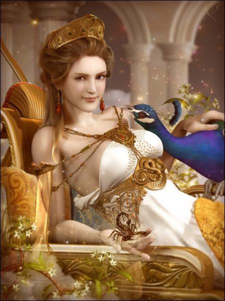 Je suis la sœur et la femme de Zeus, et la déesse du mariage. Qui suis-je ?