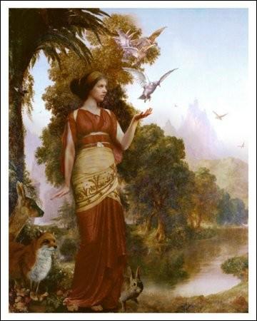 Je suis la déesse de la terre cultivée et la sœur de Zeus. Qui suis-je ?