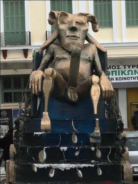 """C'est au moins depuis les calendes grecques que l'on organise des """"fêtes phalliques"""" à Tyrnavos, en ..."""