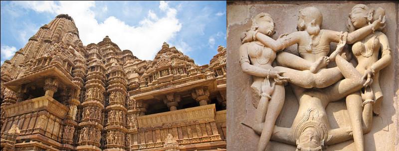 S'il existait un seul complexe à Khajurâho (Madhya Pradesh, Inde), c'est bien celui des .. temples shivaïtes (édifiés entre 900-1130) dédiés à l'amour !