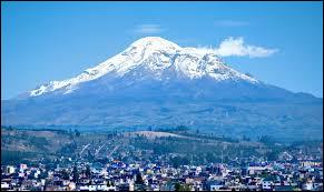 De quel pays le Chimborazo est-il le point culminant ?