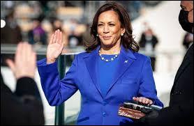 Kamala Harris est la vice-présidente :