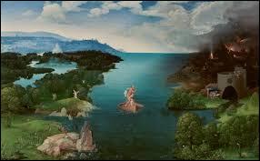 Thétis a plongé son fils en le tenant par le talon dans ce fleuve, l'un des points de passage des Enfers.