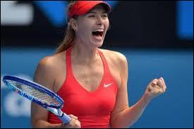 Quelle est la nationalité de l'ancienne joueuse de tennis Maria Sharapova ?
