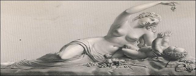 Hermès lui confia la garde de Dionysos enfant.