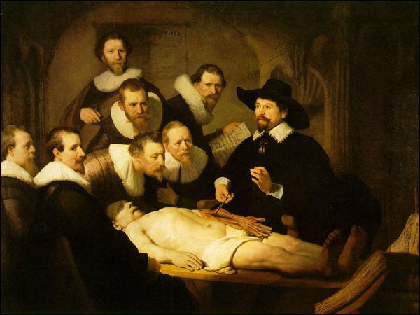 """Qui a peint """"La Leçon d'anatomie"""" ?"""
