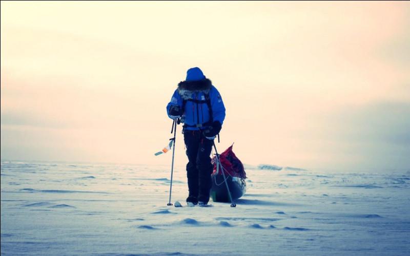 Qui fut le premier à arriver au pôle Nord, sans l'aide de chiens de traîneaux, le 11 mai 1986 ?