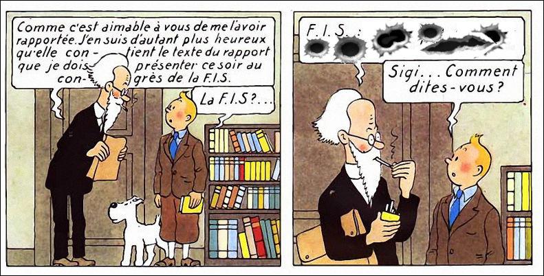 Il y a tout de même des fois où on lui cause en hébreux, à ce pauvre Tintin ! Qu'est-ce donc ce mot alambiqué d'Halambique ?
