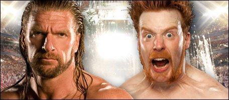 Qui a gagné entre Triple H et Sheamus ?