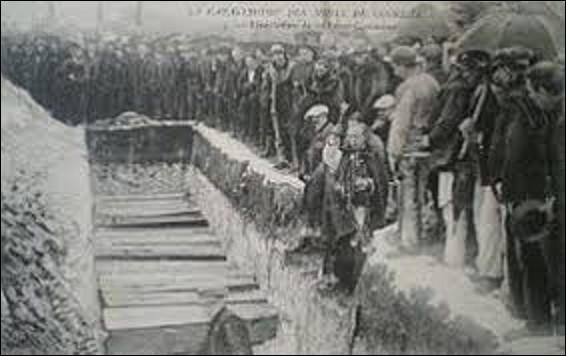 10 mars 1906 : A lieu, à Courrières, dans le Pas-de-Calais, la plus importante catastrophe minière de l'Europe par une explosion de grisou. Combiens de mineurs y succombèrent ?