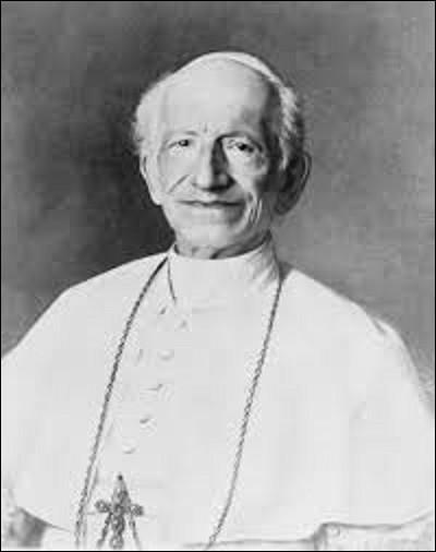 03 mars 1878 : Quel cardinal, élu pape le 20 février 1878, est intronisé comme souverain pontife ?