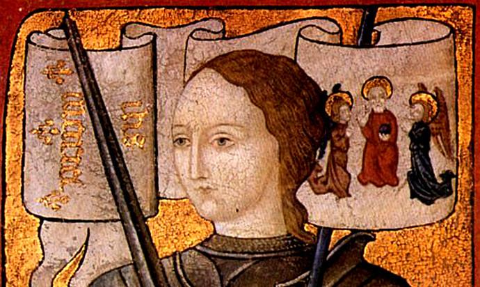 Jeanne d'Arc et son entourage
