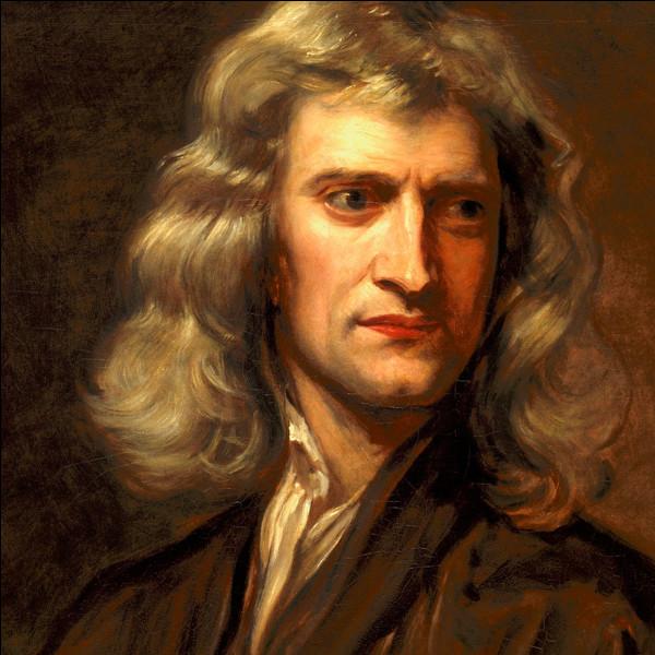 En quelle année décède Newton ?