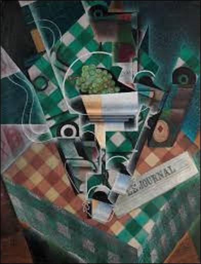 Parmi ces trois cubistes, lequel a réalisé ce tableau nommé ''Nature morte à la table'' en 1915 ?