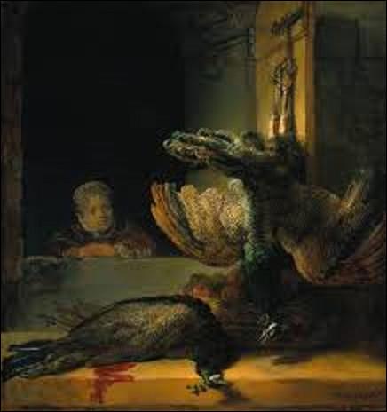 Réalisée en 1639, ''Nature morte avec des paons'' est une toile d'un baroque. Qui a exécuté ce tableau ?
