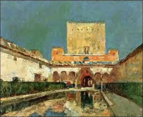 ''The Alhambra'' est une toile datant de 1883. Quel impressionniste américain en est l'auteur ?