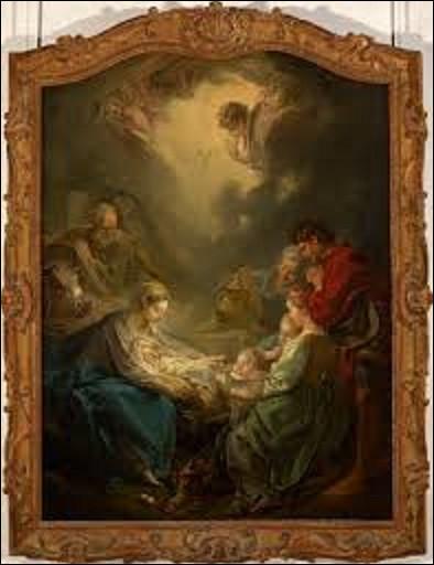 À quel rococo doit-on ce tableau exécuté en 1750 s'intitulant ''La lumière du monde'', et qui fut commandé par Madame de Pompadour ?