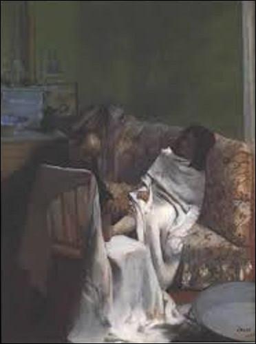 De ces trois impressionnistes, lequel a réalisé ce tableau intitulé ''Le Pédicure'' en 1873 ?