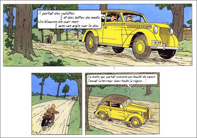 Tintin en mauvais garçon : les rôles sont inversés !
