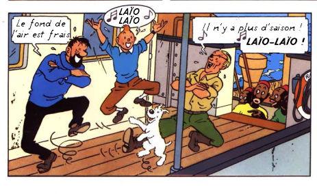 Tintin fait rien qu'à copier ! (4)