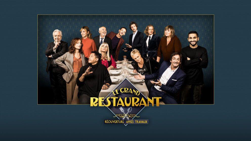 'Le Grand restaurant : Réouverture après travaux' : sketchs