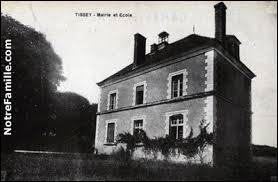 Village Icaunais, Tissey se situe en région ...
