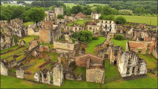Commençons en France. Dans quel Département situez-vous la commune d'Oradour-sur-Glane, village martyr détruit par l'armée allemande le 10 juin 1944 ?