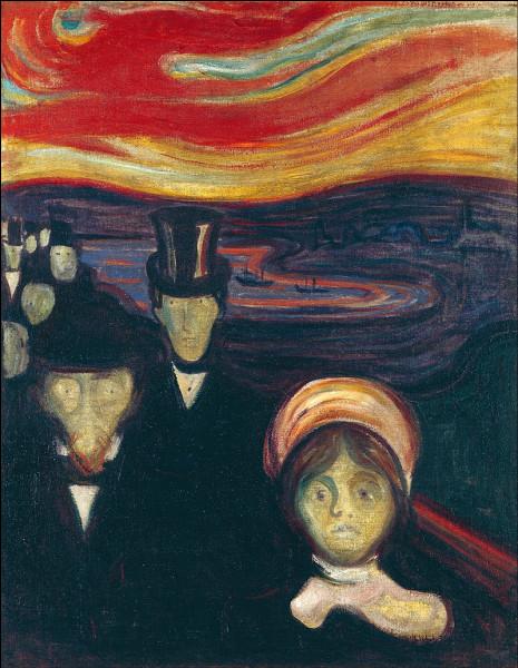 Quel est le nom de ce tableau du peintre norvégien Edvard Munch ?
