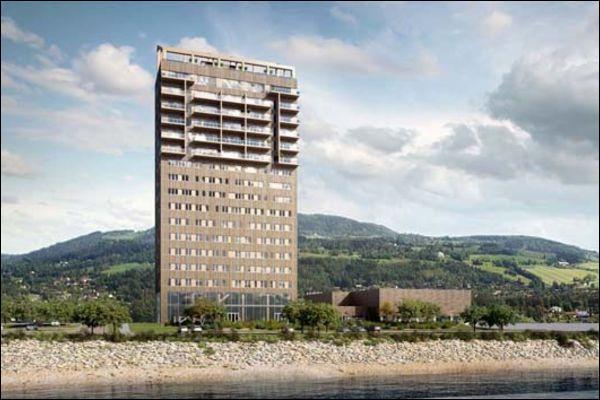Inaugurée en mars 2019 en Norvège, combien mesure la tour en bois la plus haute du monde ?
