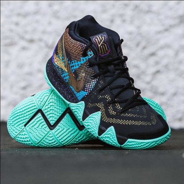 La chaussure Nike Kyrie 4 Mamba Mentality, en hommage à Kobe Bryant, est la paire fétiche d'un des streetballeurs des questions précédentes.