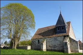 Voici l'église Sainte-Croix de Champagne. Village du Centre-Val-de-Loire, il se situe dans le département ...