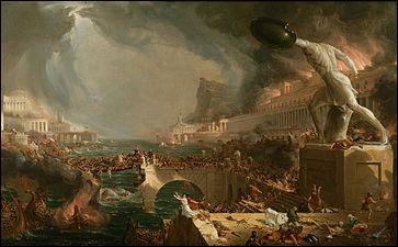Comment s'appelle ce tableau de Thomas Cole ?
