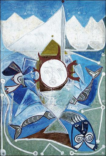 À quelle scène fait référence ce tableau de Picasso ?