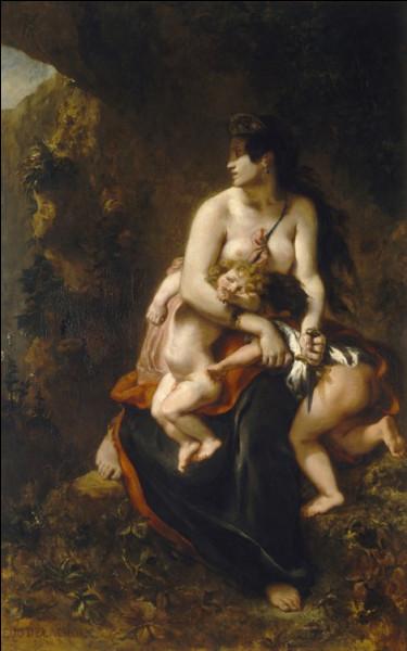 Qui a peint le tableau Médée ?