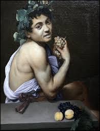 """Qui a peint """"Le Jeune Bacchus malade"""" ?"""