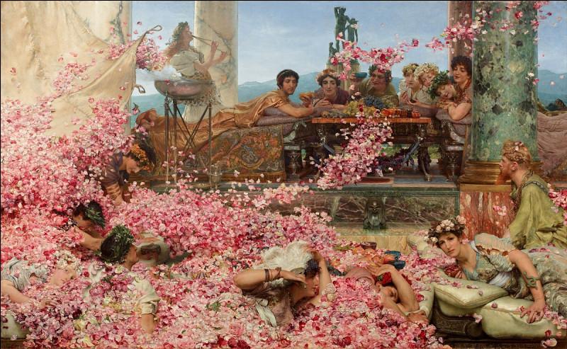 """Qui a peint """"Les Roses d'Héliogabale"""" ?"""