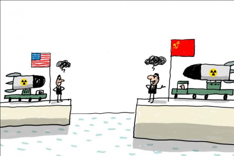 Durant quelle période la guerre froide s'est-elle déroulée ?
