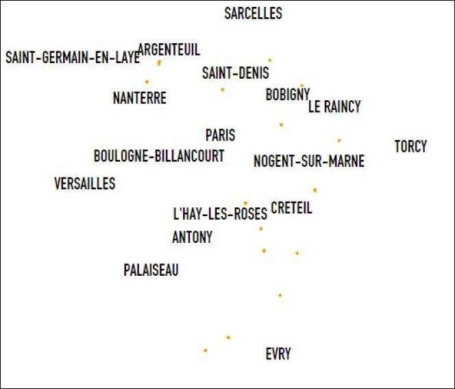 """Voici une carte répertoriant les seuls établissements de France portant le nom de """"Marcel Cachin"""" : qui était-il ?"""