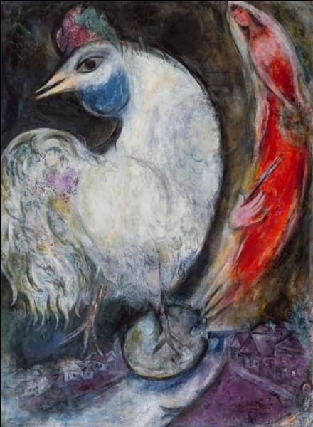 """Encore un """"Coq'Art"""" !'' : quel artiste, né en Biélorussie, a représenté ce coq, en 1947 ?"""