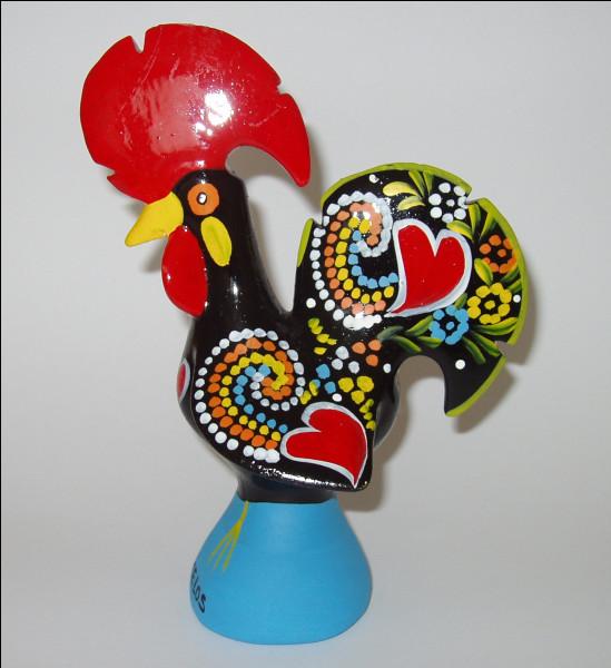 De quel pays le coq de Barcelos est-il l'emblème ?