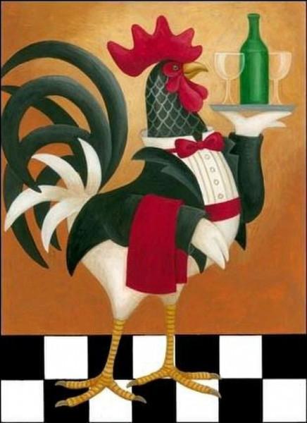 """Recette emblématique de la cuisine franc-comtoise, avec quoi est accompagné le fameux """"coq au vin jaune"""" ?"""