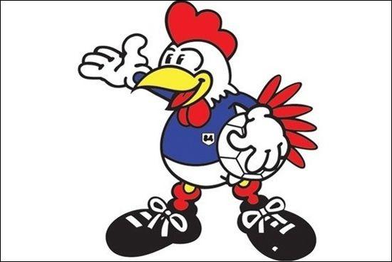 Voici la mascotte de l'Équipe de France de football, créée pour la Coupe de France 1998. Quel est son prénom ?