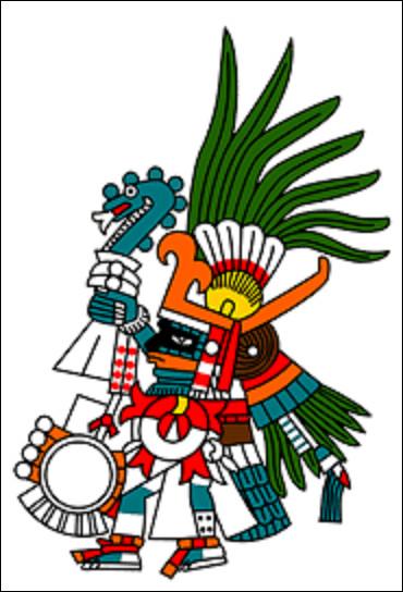 Mythologie : Dans la mythologie aztèque, qui est le dieu de la guerre et du Soleil ?