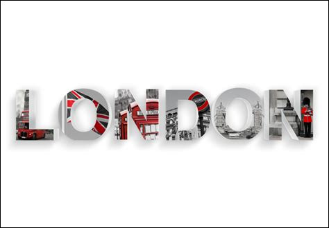 Avec qui Monica avait-elle initialement prévu de sortir à Londres ?