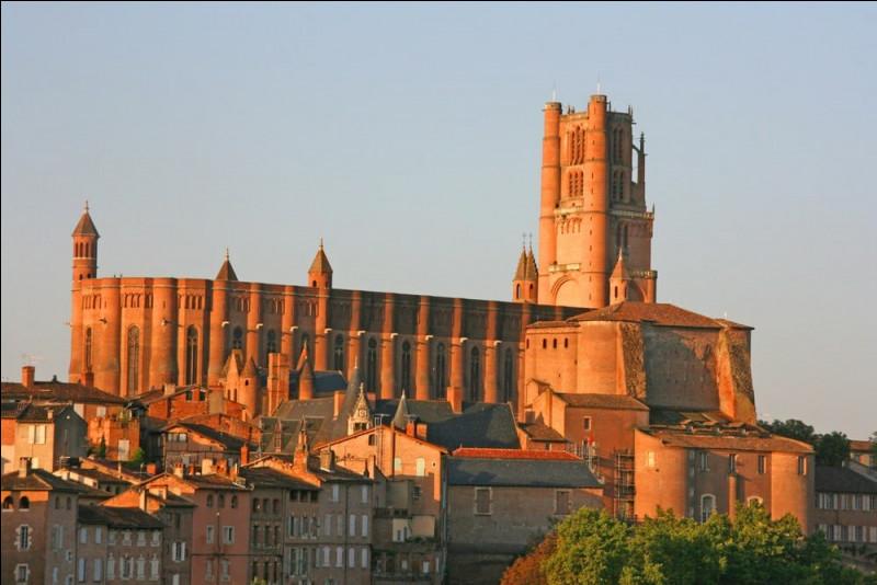 Originale de par sa couleur due à la brique rouge et son style dit ''gothique méridional'', elle surprend par son allure de forteresse. On la visite à...